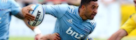 Benji Marshall Auckland Blues Super Rugby