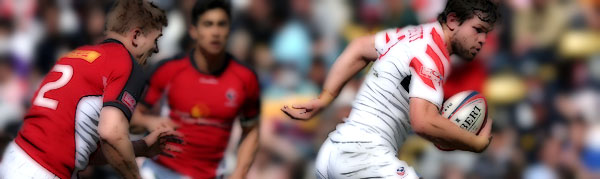 Danny Barrett United States Eagles Hong Kong IRB 7s Rugby