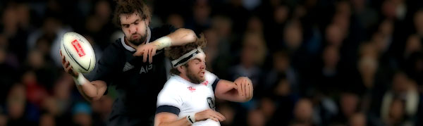 George Whitelock Geoff Parling New Zealand England All Blacks Rugby