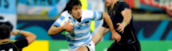 Lucas González Amorosino Argentina Scotland Rugby