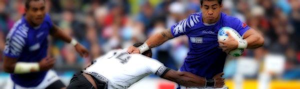George Pisi Manu Samoa Fiji Rugby Pacific Nations Cup