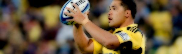 Motu Matu'u Samoa Wellington Hurricanes Rugby