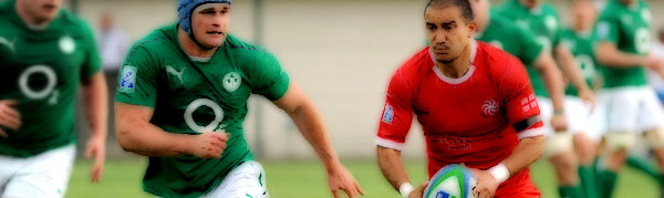 Rhys Ruddock Giorgi Begadze Emerging Ireland Georgia Lelos Rugby Tbilisi Cup