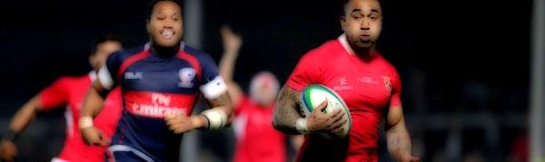 Fetu'u Vainikolo Tonga Ikale Tahi USA United States Eagles Rugby