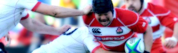 Kensuke Hatakeyama Japan Brave Blossoms Georgia Lelos Rugby