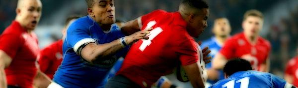 Manu Samoa England Rugby Anthony Watson Reynold Lee-Lo