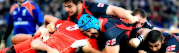 Levan Datunashvili Davit Kubriashvili Georgia Lelos Japan Brave Blossoms Rugby