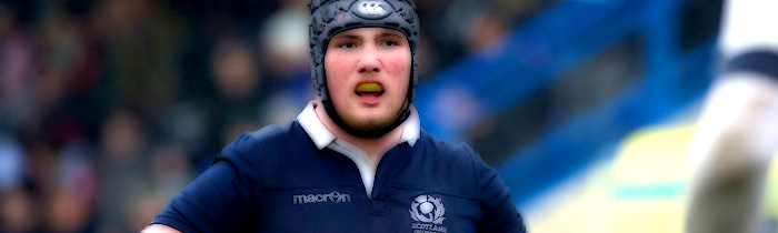 Zander Fagerson Scotland u20 6 Six Nations Rugby