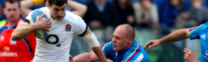 Jonny May Sergio Parisse England Italy Azzurri 6 Six Nations Rugby