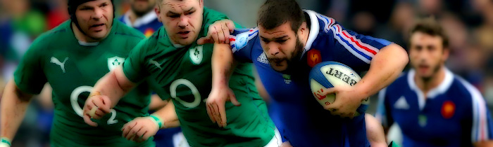 Rabah Slimani Cian Healy Mike Ross Ireland France Les Bleus 6 Six Nations Rugby