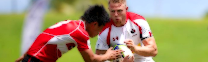 Conor Trainor Canada 'A' Junior Japan World Rugby Pacific Challenge