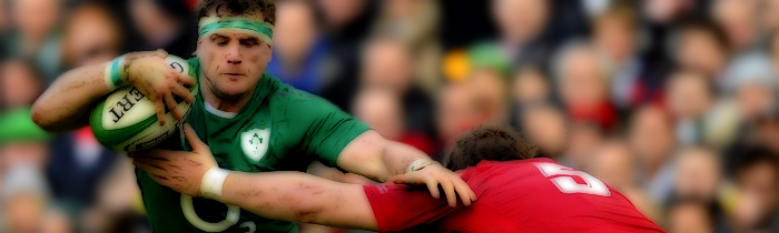 Jamie Heaslip Wales Ireland 6 Six Nations Rugby