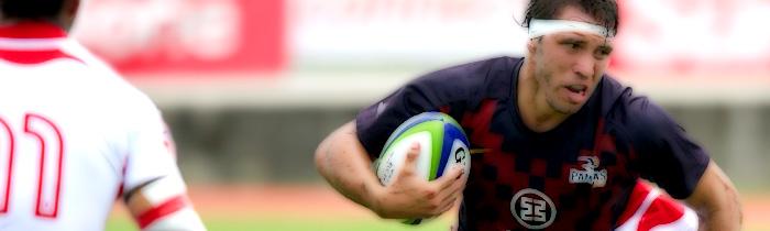 Anibal Panceyra Garrido Argentina Pampas XV Tonga 'A' World Rugby Pacific Challenge