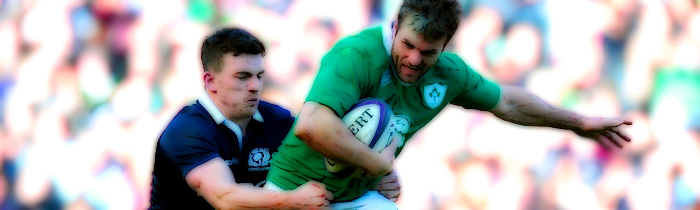 Matt Scott Jared Payne Scotland Ireland 6 Six Nations Rugby