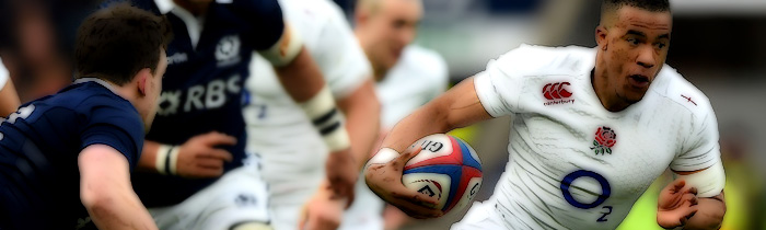 Anthony Watson England Scotland 6 Six Nations Rugby