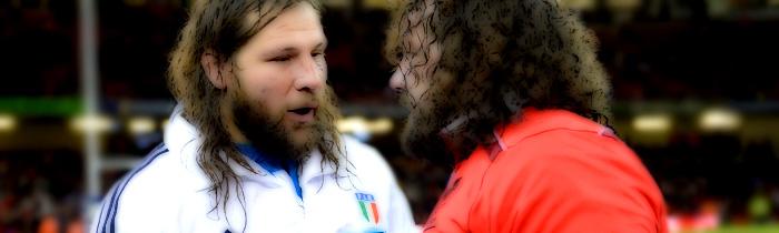 Martín Castrogiovanni Adam Jones Italy Azzurri Wales 6 Six Nations Rugby