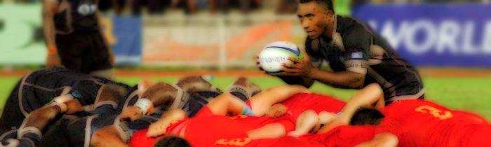 Serupepeli Vularika Fiji 'A' Argentina Pampas XV World Rugby Pacific Challenge Scrum