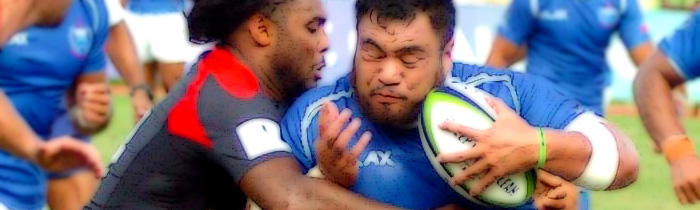 Jordan Wilson-Ross Andrew Williams Samoa Canada 'A' World Rugby Pacific Challenge